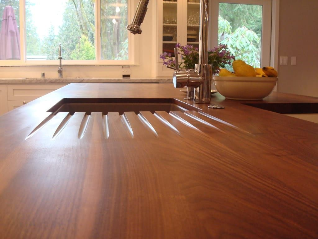 Choosing A Wood Countertop Sealer Wooden Countertops Wood