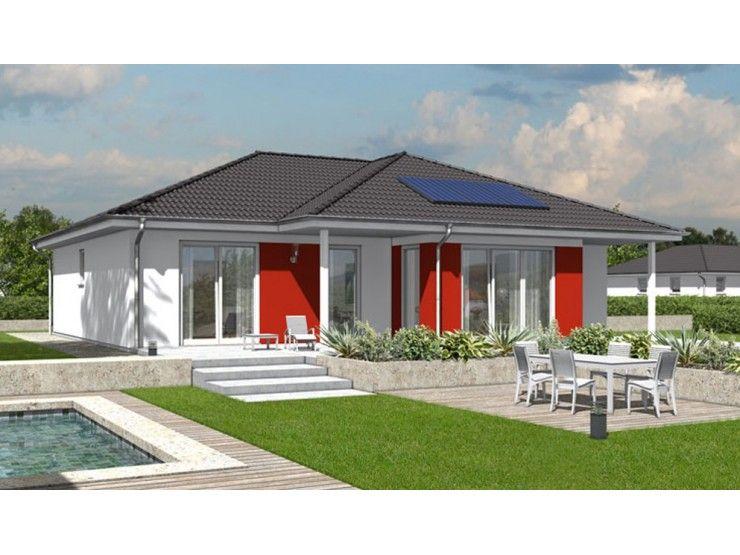 Fassadengestaltung beispiele bungalow  Bungalow 128 - #Einfamilienhaus von Town & Country Haus ...