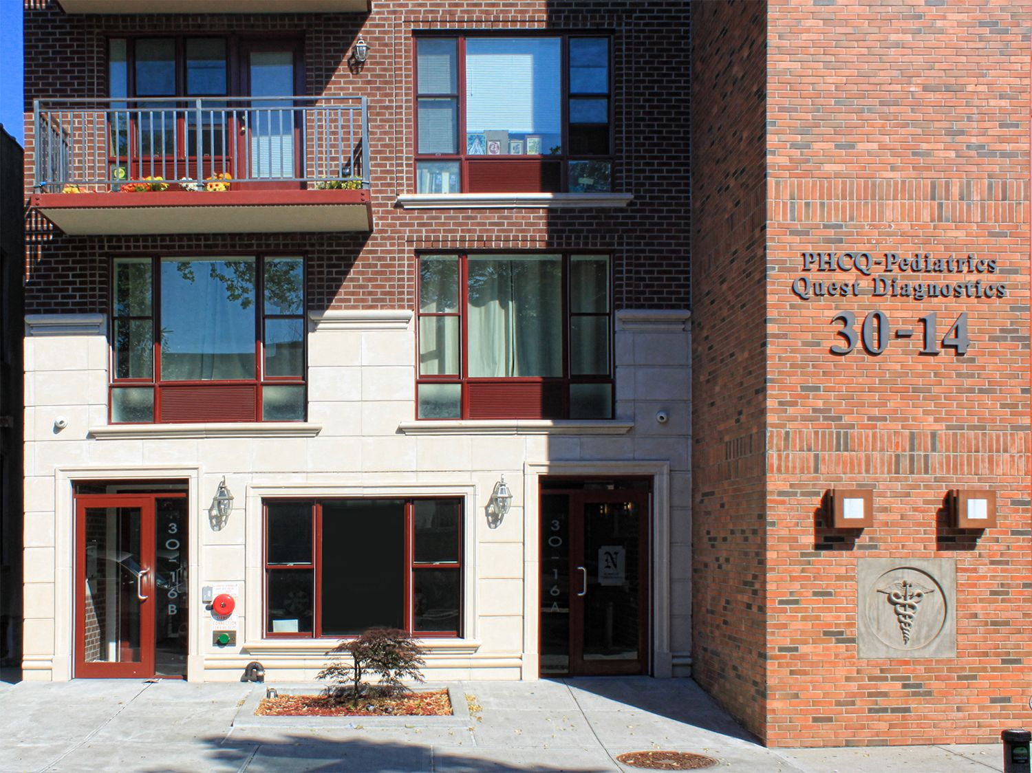 This is the front of an apartment building where we used #precast concrete for the architectural #design. Our precast concrete looks great on any #apartment building which makes all tenants feel at home.