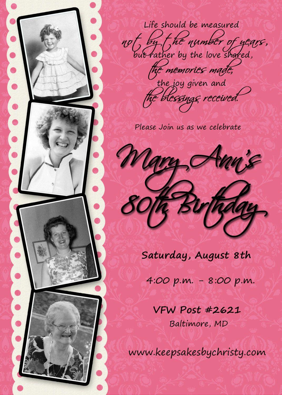 33 birthday party invitation wording