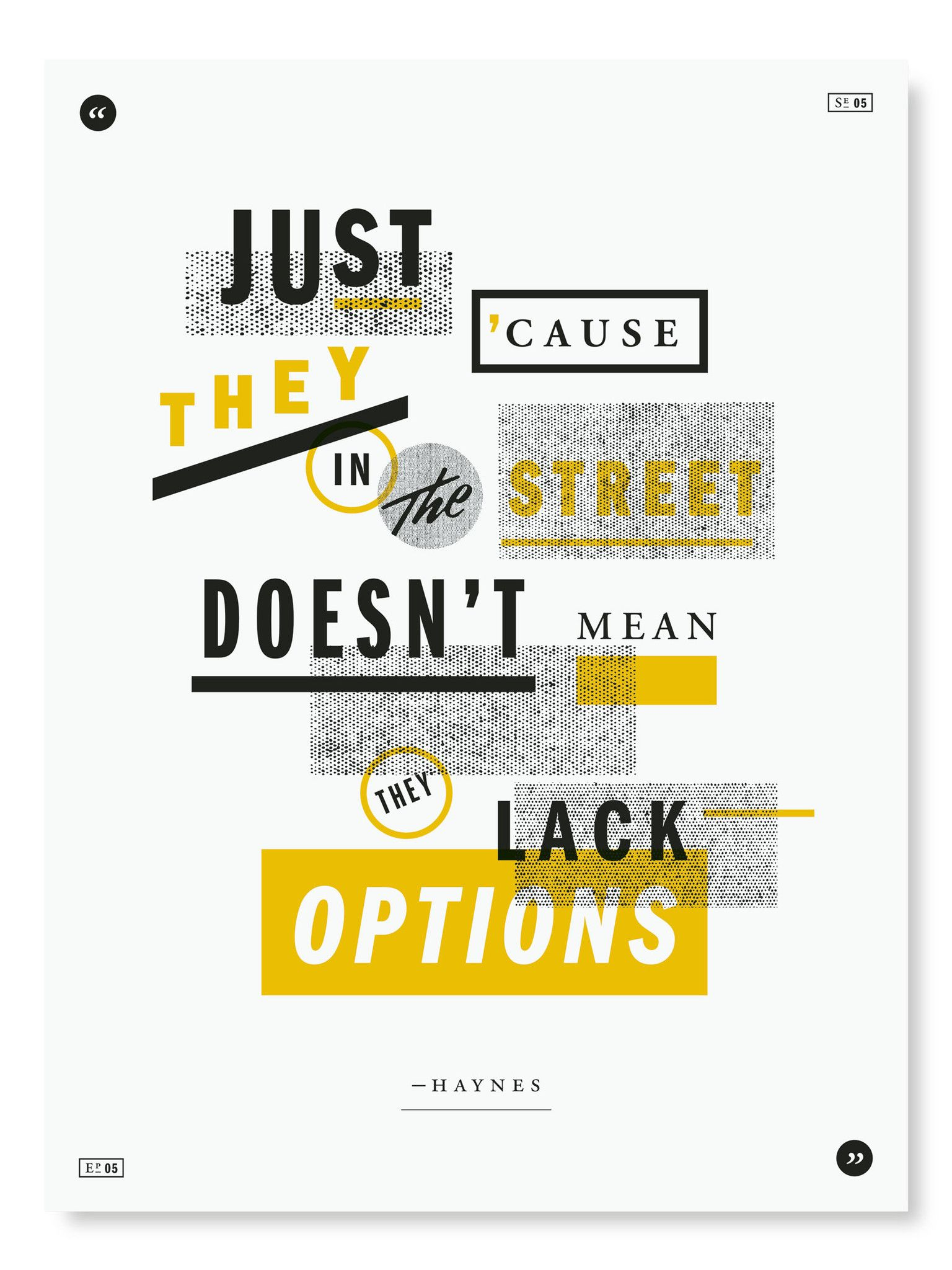The Wire Poster Project | Da Wire | Pinterest | Typography and ...