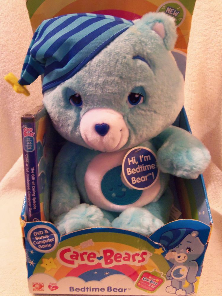 Care Bears Bedtime Bear with DVD and computer game 2007 ...