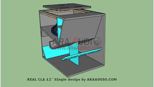 Ukuran Box Real Cla 12 Inch Penahan Angin Desain Speaker