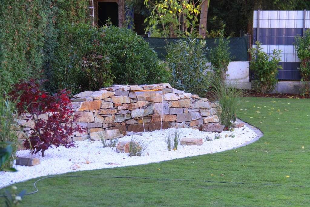 Gartengestaltung Peter Reinisch | Neugestaltung Garten Mit Wasserfall