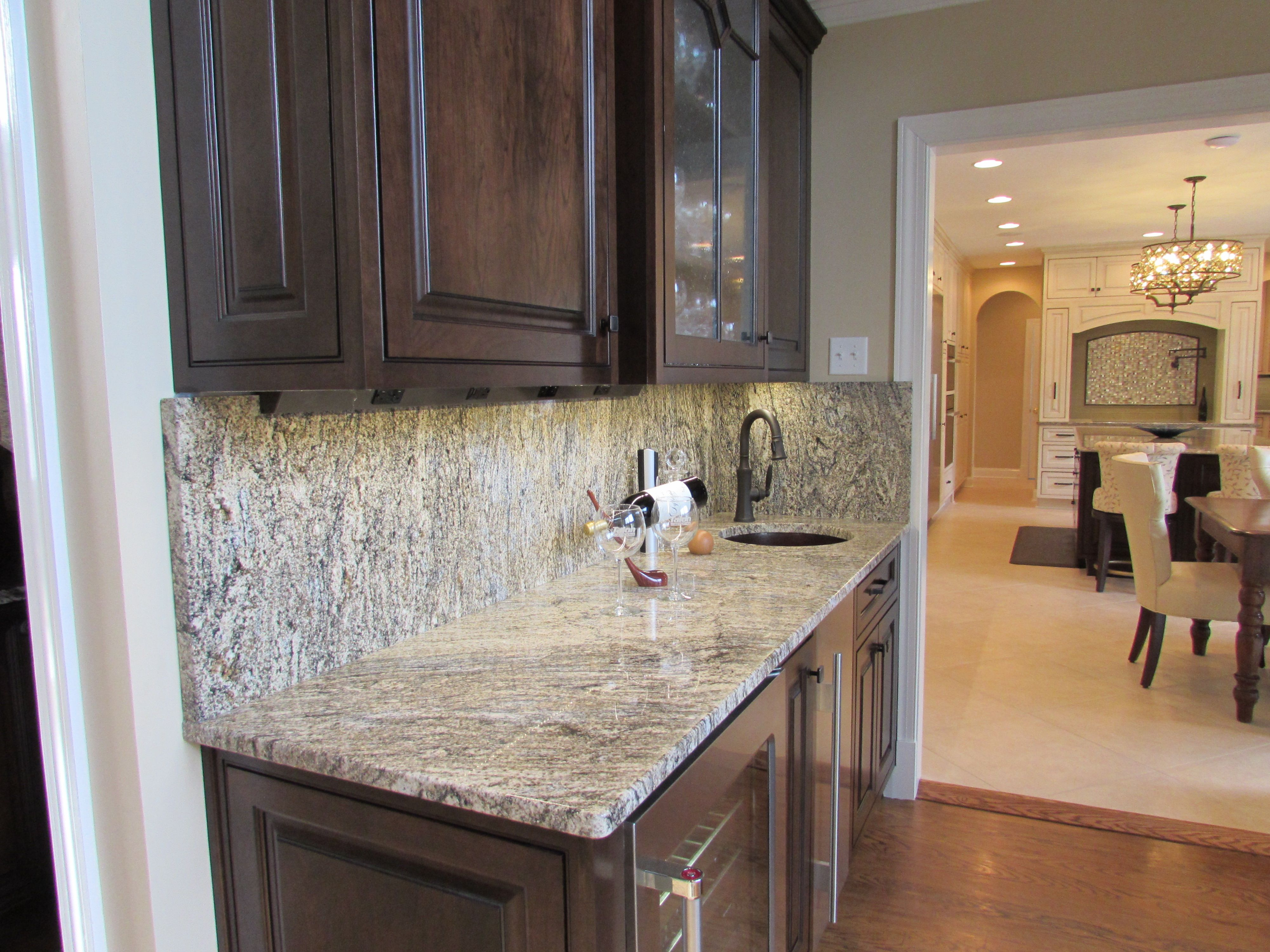 N Potomac MD Kitchen Remodel With Wet Bar Ideas For The House - Kitchen remodeling frederick md