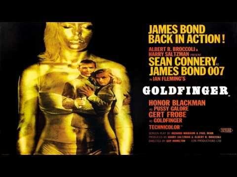 Goldfinger By Shirley Bassey 007 Soundtrack Best James Bond