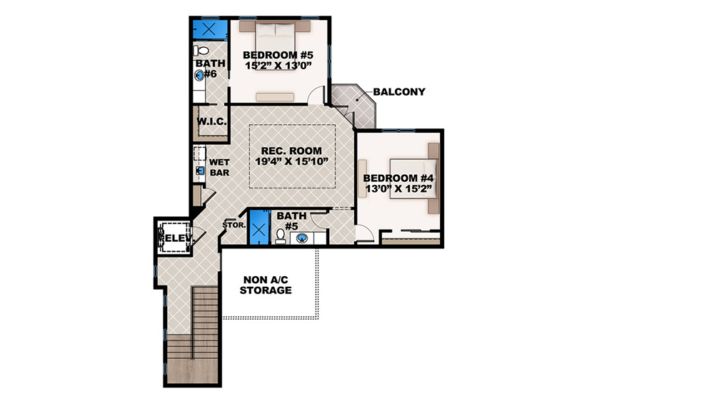 Plan 86021bw Mediterranean Dream Home Plan With 2 Master Suites House Floor Plans New House Plans House Plans