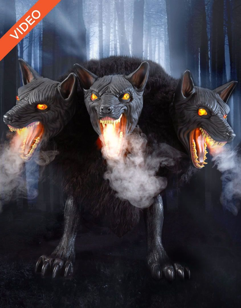 Animatronic Cerberus 3Headed Dog Is Our New YearRound