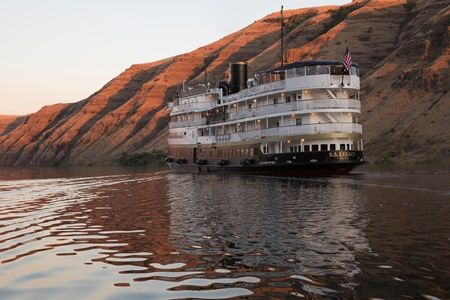 From lush green forest to arid red desert all in a week aboard the S.S. Legacy...  https://www.un-cruise.com/destinations/columbia-river-cruises