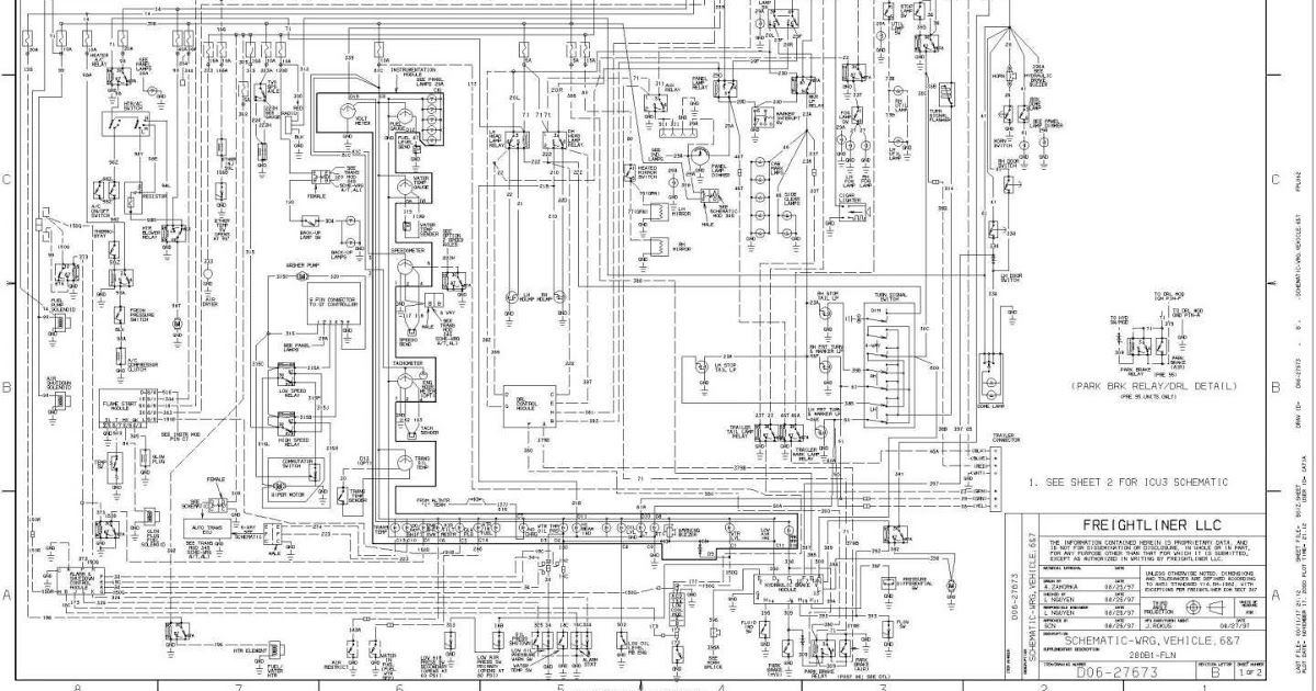 16 2000 Sterling Truck Wiring Diagram Truck Diagram In