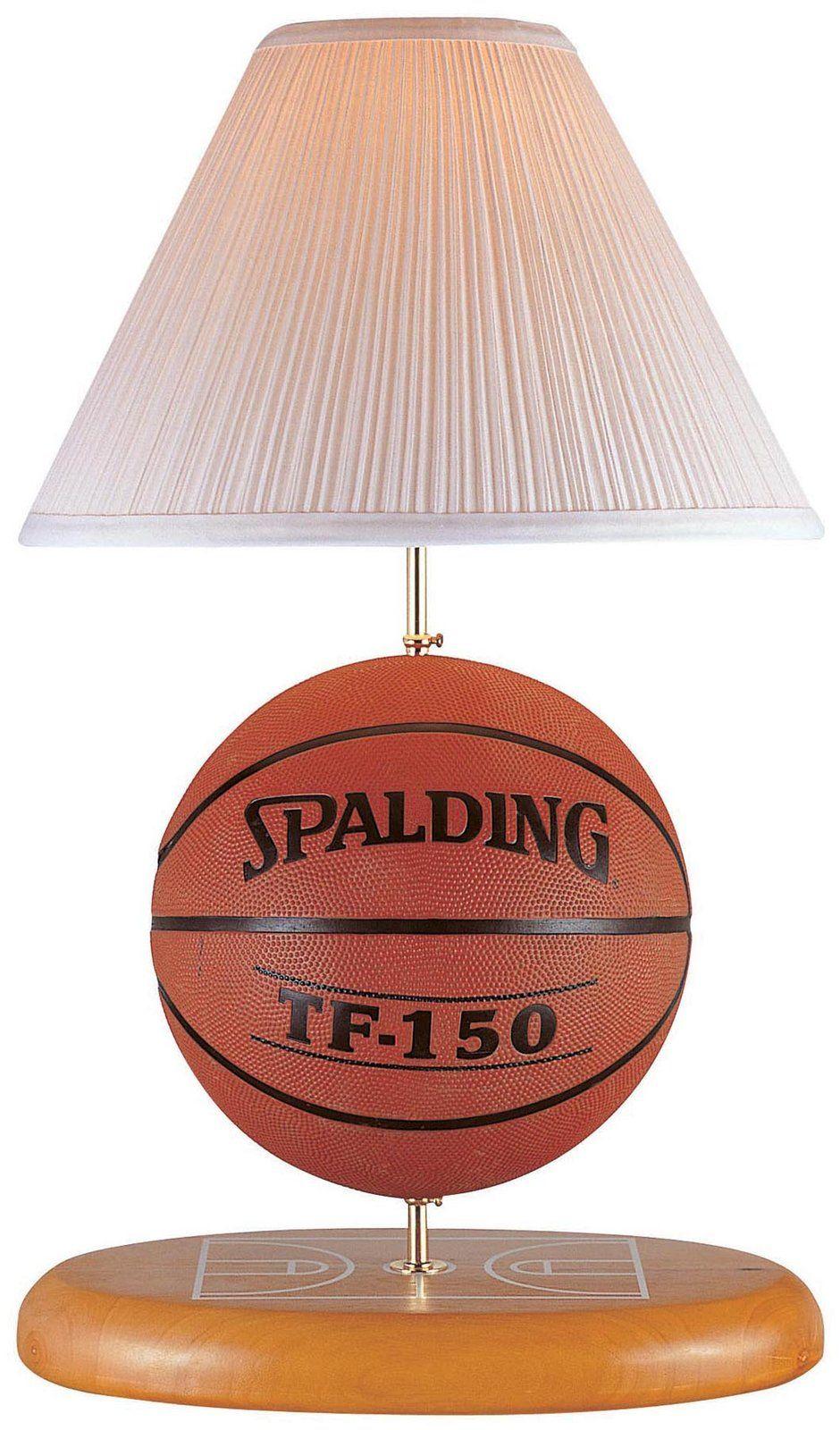 Nice Lite Source Inc Basketball Lamp Table Lamp Brown Free