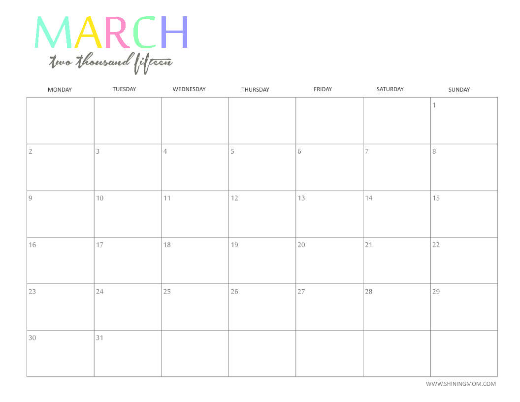graphic relating to Fun Printable Calendar identify Totally free 2015 Printable Calendar by means of : Entertaining and