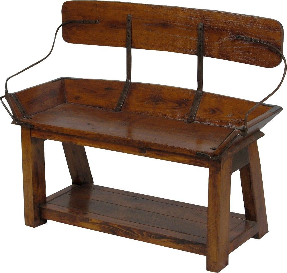 buckboard bench open back 41 vintage winter bench and woods