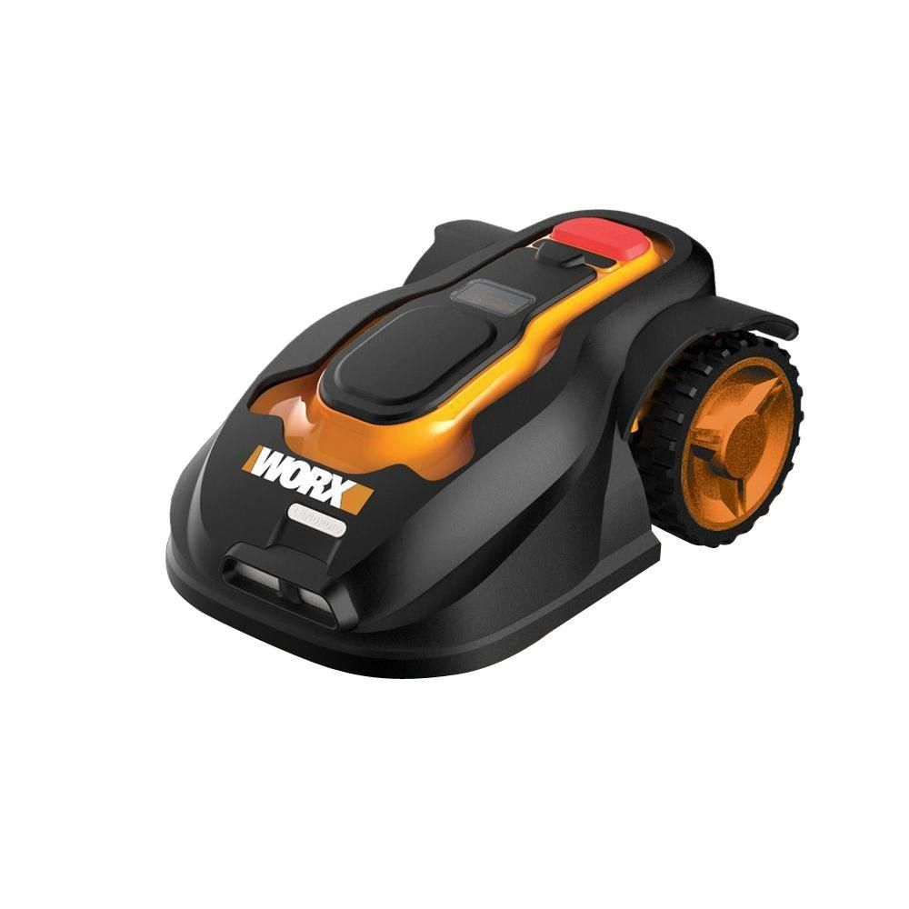 Worx 7 In Landroid Robotic Lawn Mower Wg794 The Home Depot