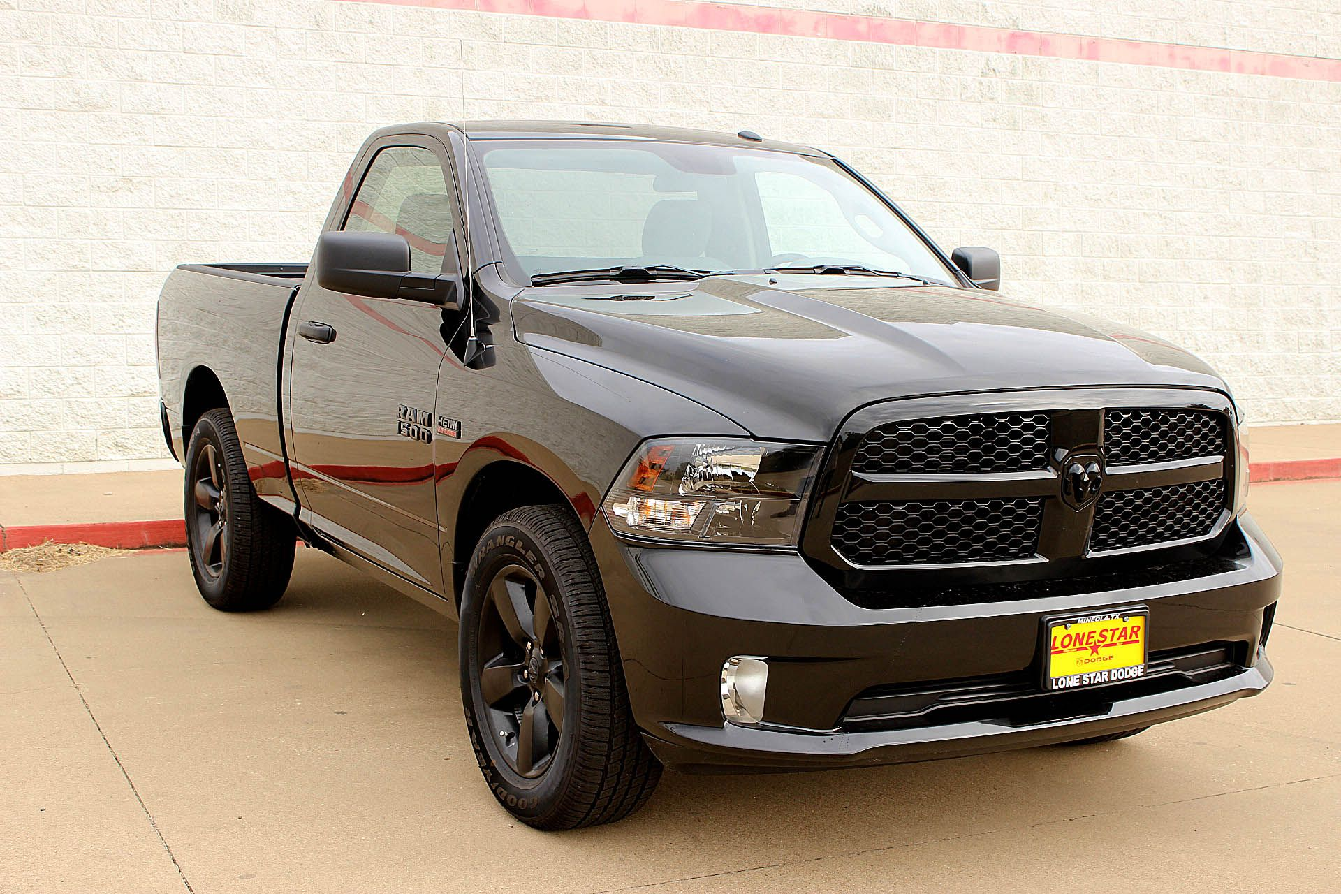 2017 Dodge Ram 1500 blackout Ram Trucks Pinterest