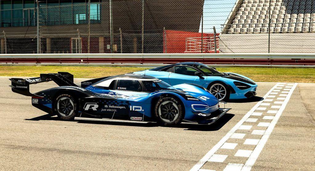 Chris Harris Discovers How Fast The Vw Id R Really Is In 2020 Volkswagen Racing Mclaren