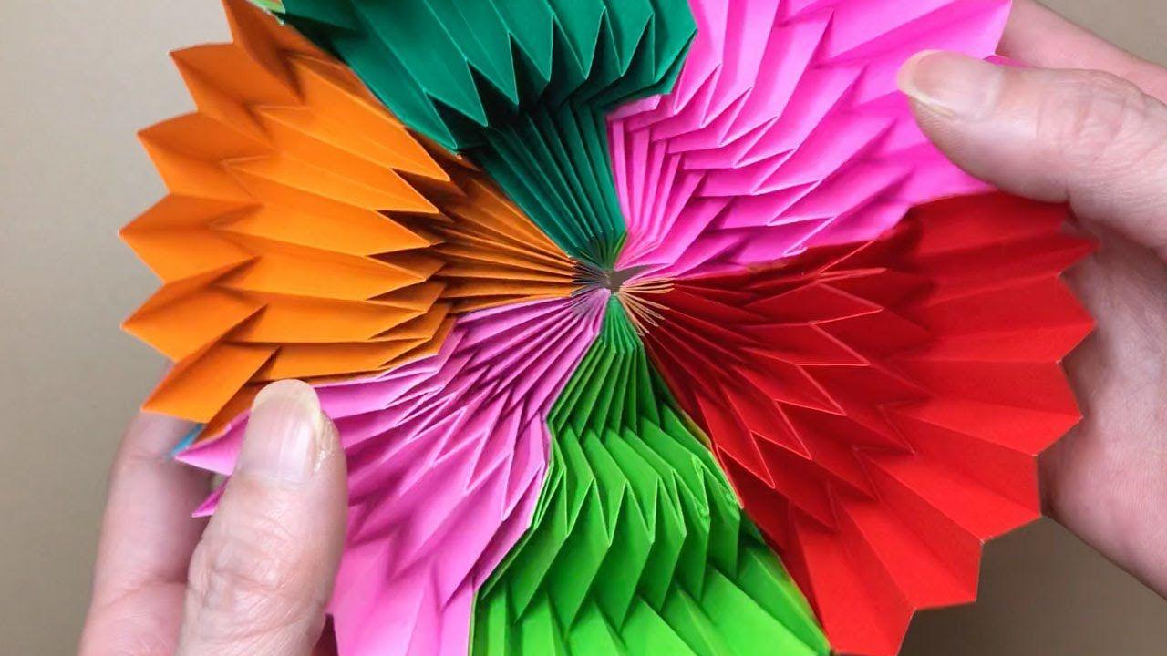 万華鏡 枚 作り方 208 折り紙