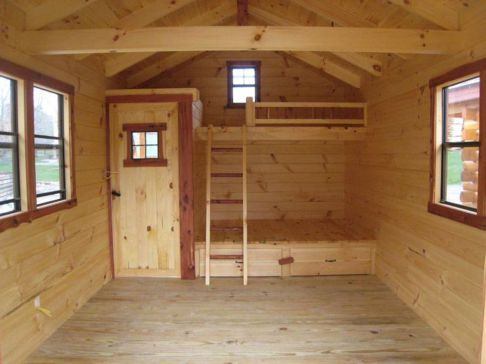 Small Hunting Cabin Plans With Lofts Small Cabin Plans Cabin Plans With Loft Cabin Loft