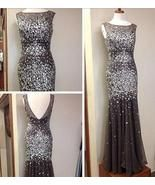 rhinestone prom Dress,charming Prom Dresses,long prom dress,2018 prom dr... - $239.00  #promdresses #fashion #shopping #dresses #eveningdresses