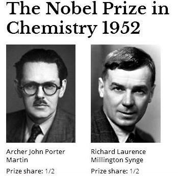 Archer John Porter Martin Was An English Chemist And Nobel Laureate Who Shares The 1952 Prize In Chemistry With Richard Synge For Invention Of