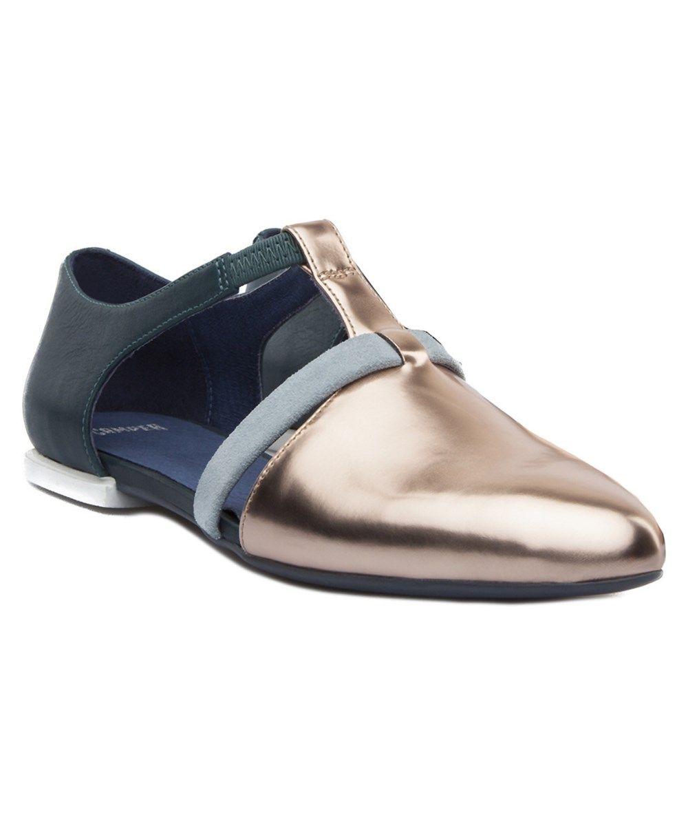 Camper Zapatos De Cordones Mujer En Tela Gris Tws Multicolor