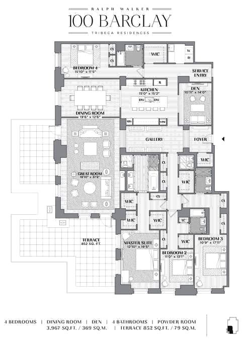 100 Barclay Tribeca Condo Floor Plans Beach House Floor Plans Penthouse Apartment Floor Plan