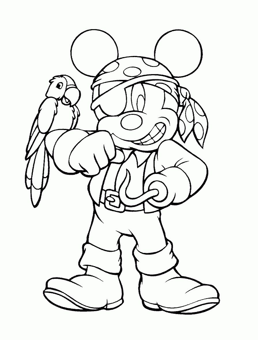 Mickey Mouse Pirate Coloring Pages Mickey Mouse Pirate Coloring Pages Pirate Coloring Pages Halloween Coloring Pages Mickey Mouse Coloring Pages