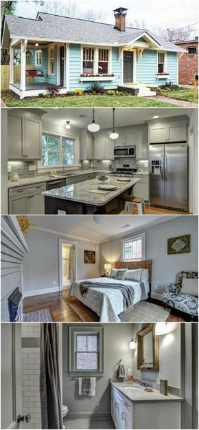 Atlanta designer gives tiny house new life in living color also best homes images vans dreams motor rh pinterest