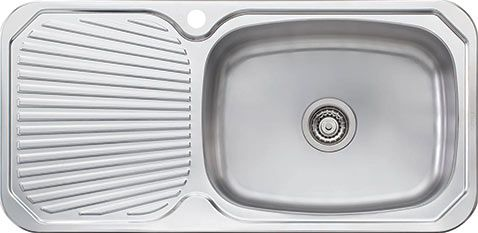 Oliveri Stainless Steel Drainboard Sinks  Sinks Stainless Steel Delectable Kitchen Sinks With Drainboards Inspiration Design