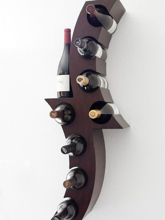 wine rack in living room black n white modern wall for the home indoors outdoors
