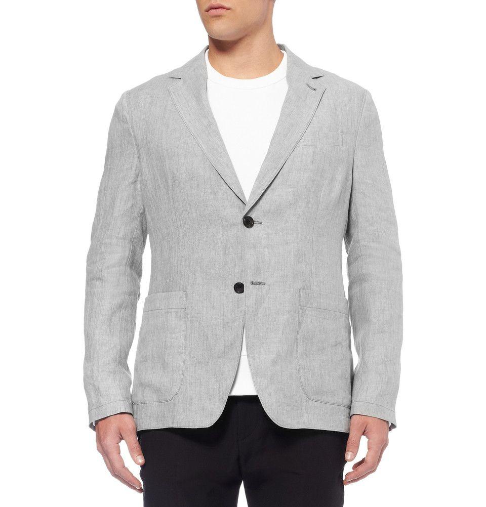 Our Legacy - Unstructured Linen Blazer|MR PORTER