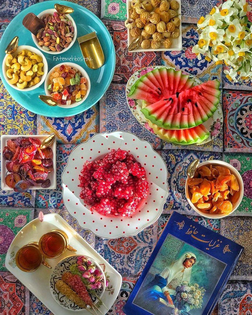 Pin By Masoud Tarebari On Iranskaya Kuhnya Persian Food Iranian Food Yalda Night
