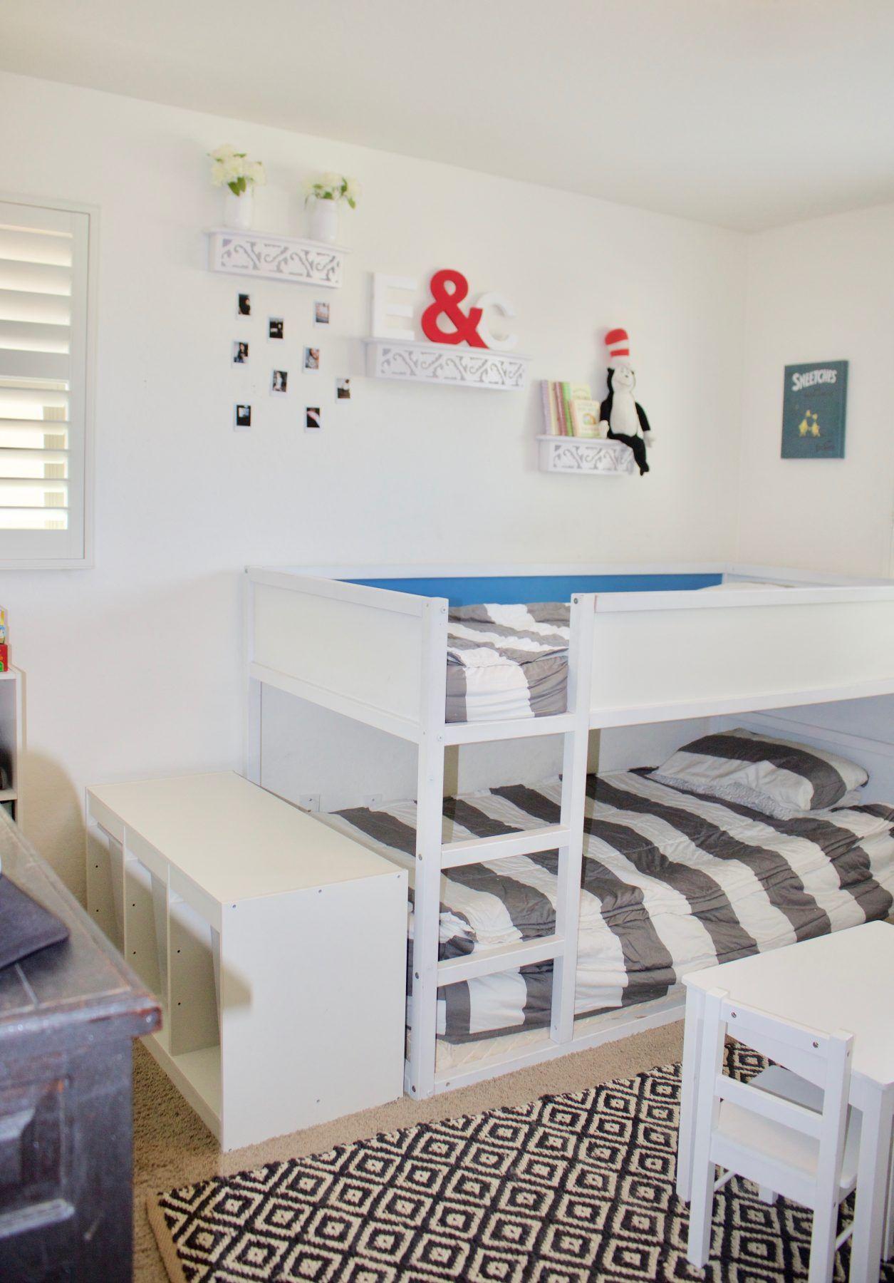 Gender Neutral Shared Kids Bedroom Small Shared Bedroom Room
