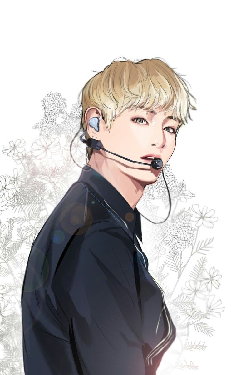 Pin V Bts Anime Drawing Images To Pinterest