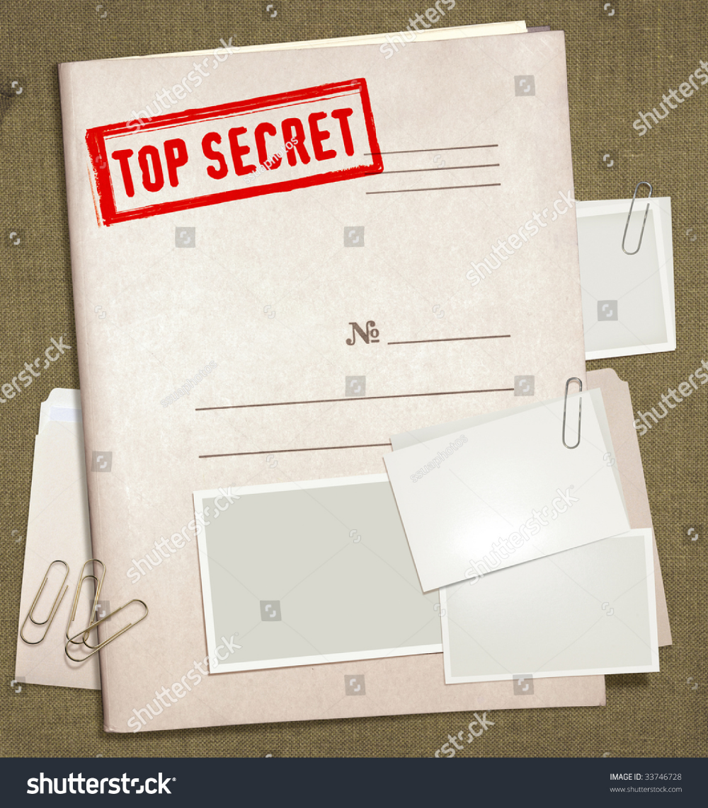 Dorsal View Military Top Secret Folder Royalty Free Images Stock Photography Episode Interactive Backgrounds Anime Backgrounds Wallpapers Folder Templates
