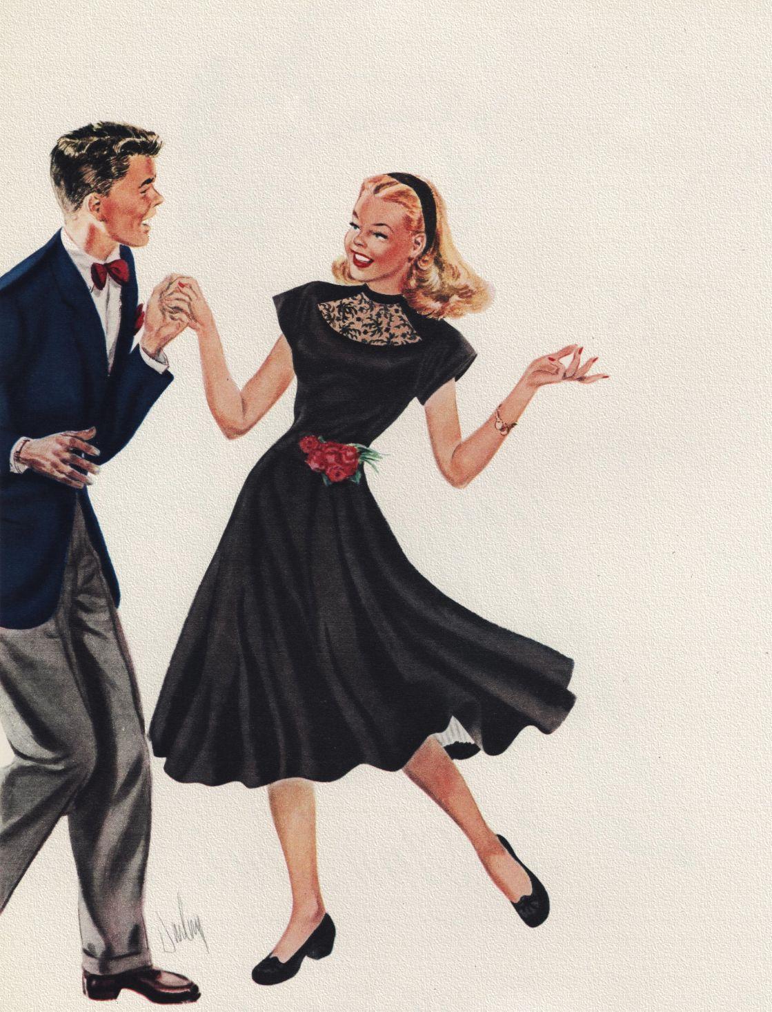 Dancing 1947 VINTAGE ROMANCE in 2019