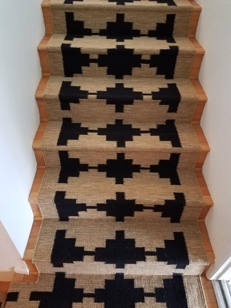 Best This Is A Custom Designed And Woven Wool Flat Weave Stair 400 x 300