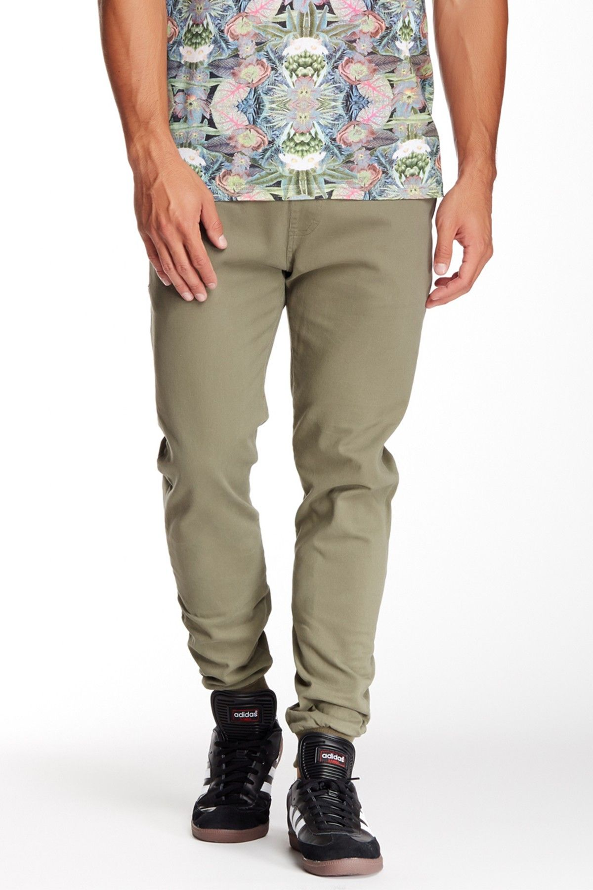 Ace Twill Slim Fit Chino Jogger Pant