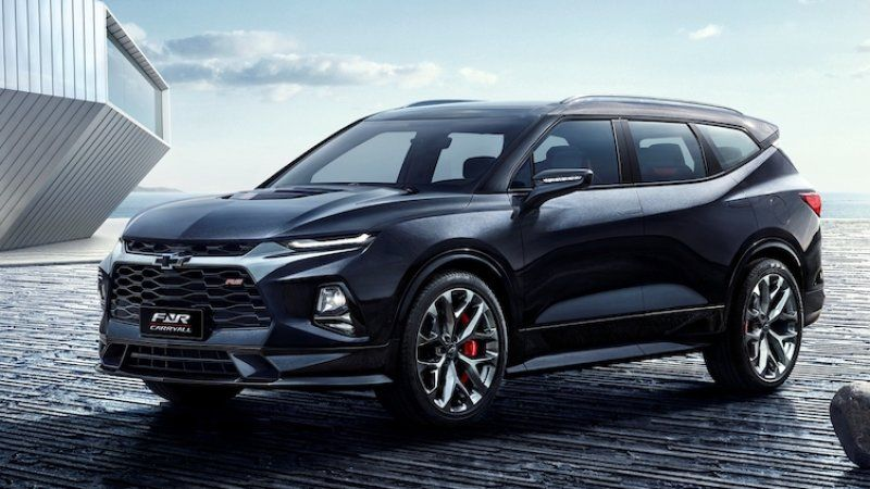 Chevrolet Blazer Xl Three Row Suv Reportedly In The Works For China Best Midsize Suv Chevrolet Blazer Chevrolet