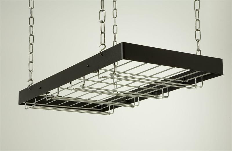 Beautiful Hanging Glass Rack for Bar