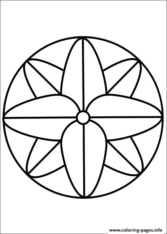 Print Easy Simple Mandala 68 Coloring Pages Simple Mandala Mandala Coloring Simple Mandala Design