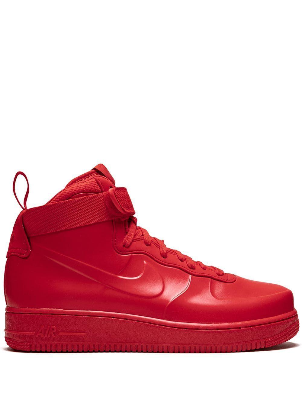 Nike Air Force 1 Foamposite Turnschuhe Rot In 2020 Nike Air Force Nike Air Nike Air Shoes