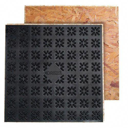 2' x 2' Dri-Core Panel at Menards- to finish basement living space