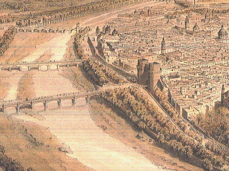 Antigua muralla de valencia murallas de valencia for Fotos antiguas de valencia