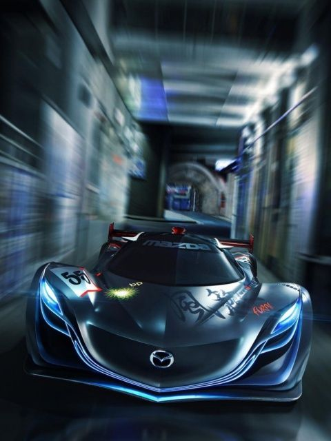 Mazda Furai Wallpaper 480x640