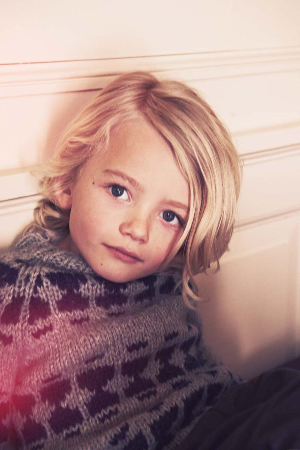 Long hair for toddler boy photo for doolittle magazine with franne voigt  hair  kids