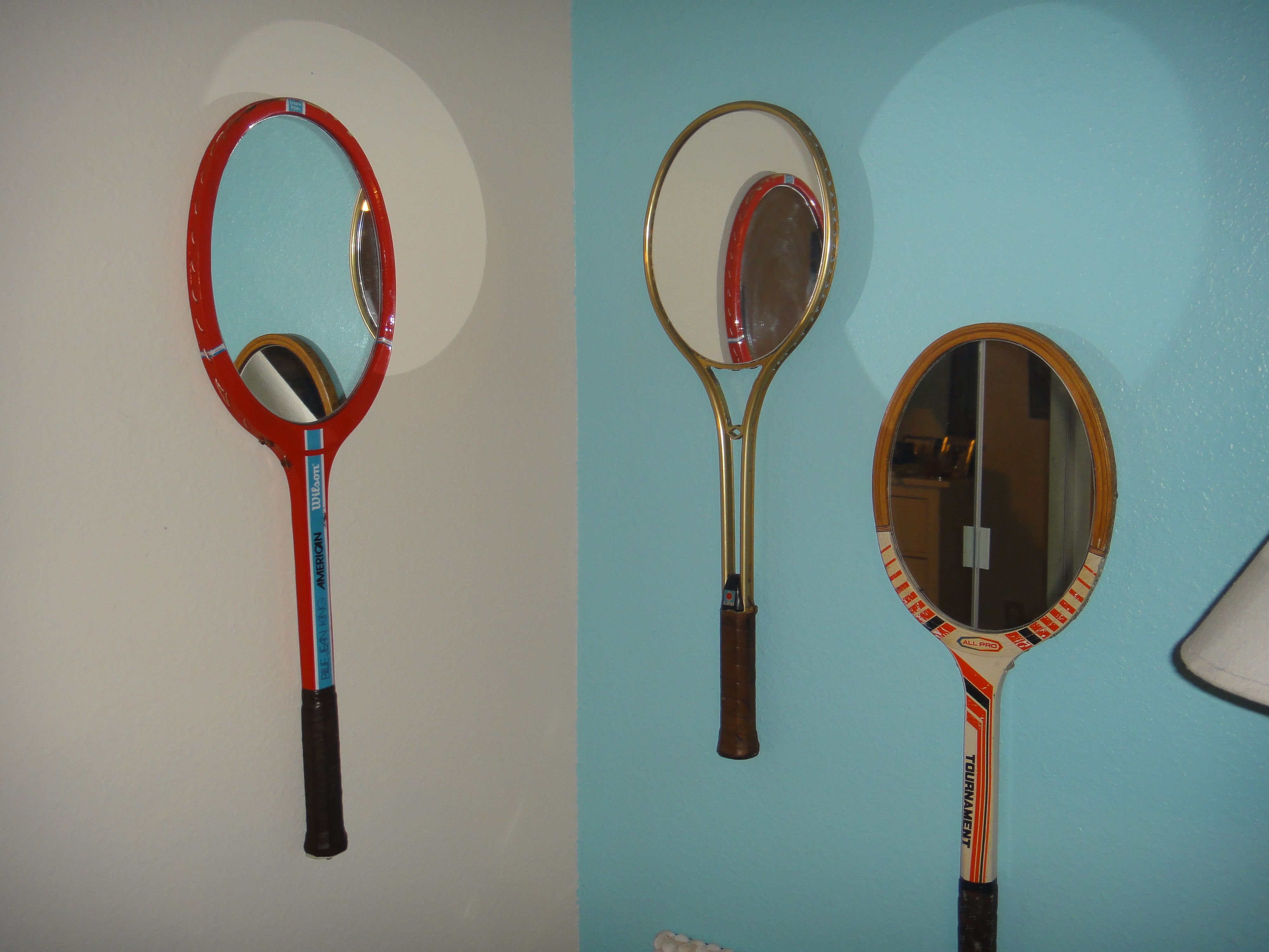 my vintage racquet mirrors