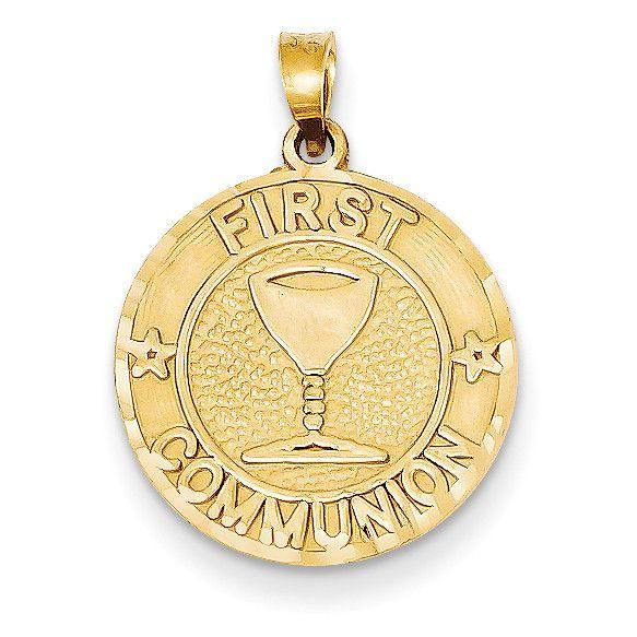 14k First Communion Charm YC240
