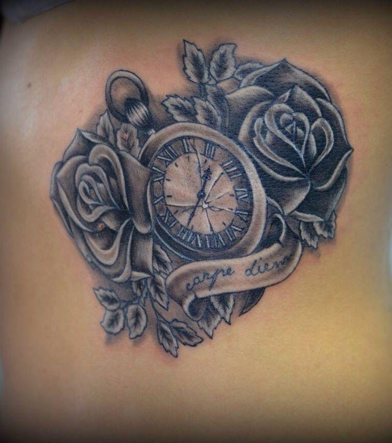 Carpe diem tatouages pinterest carpe diem - Tatouage carpe diem femme ...