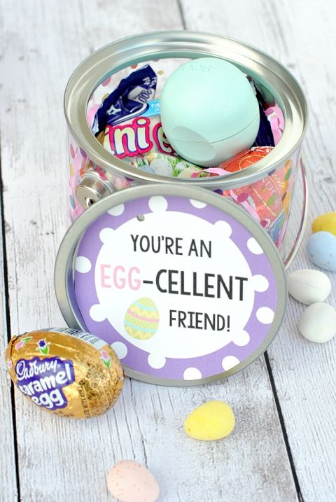 Egg cellent easter gift idea easter and gift cute gift idea for a friend at easter negle Images